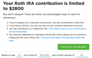 Nerdwallet Roth IRA Calculator