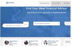 Fee Based Financial Advisor XY Planning Network