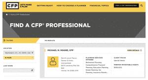 Certified Financial Planner (CFP) Board